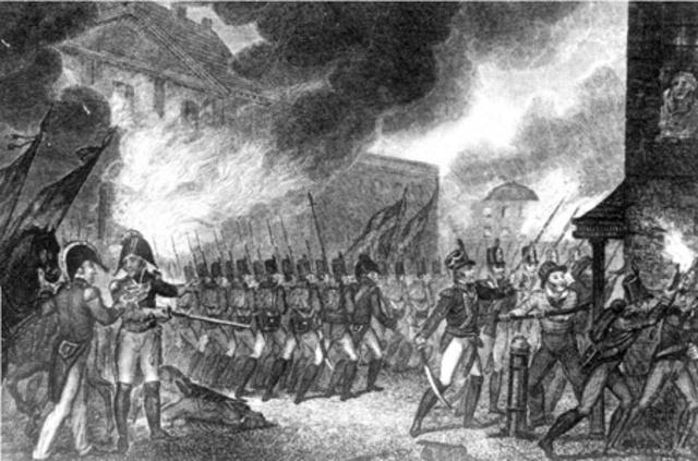 Washington, D.C Attacked & Burned