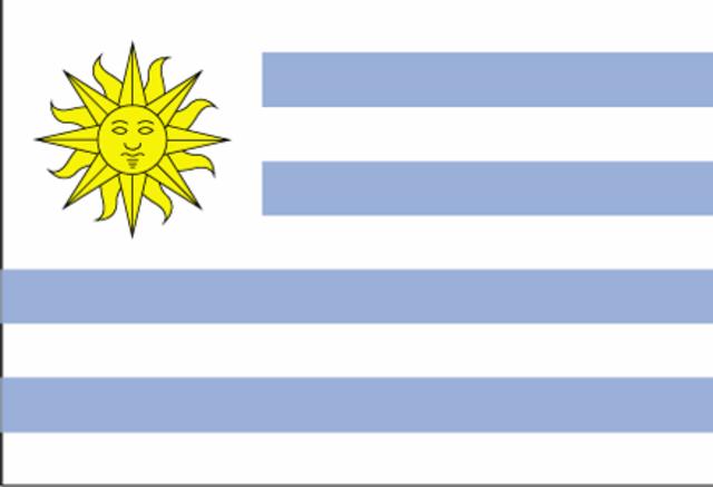 Uruguay frente a Espana