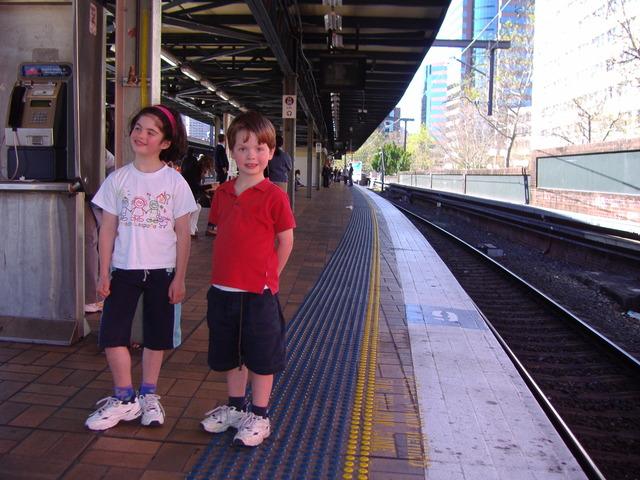 FIRST TRAIN TRIP