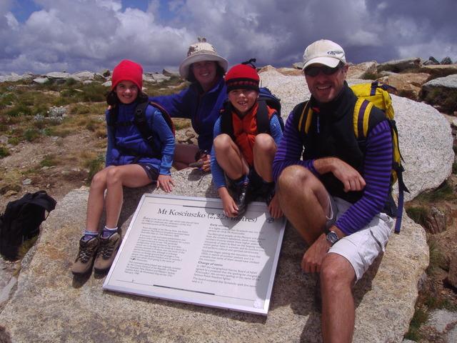 CLIMBED MOUNT KOZIOSCO