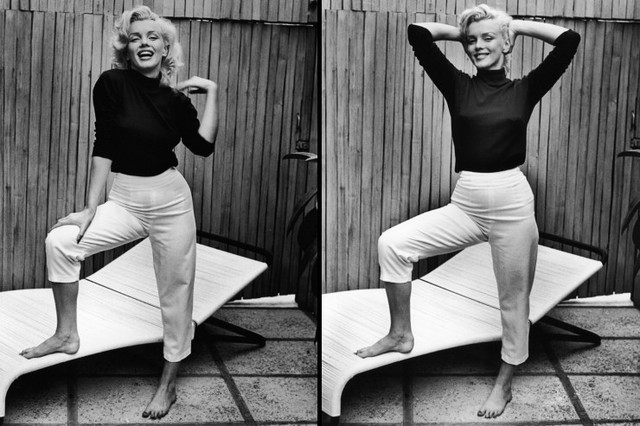 HOME WITH MARILYN MONROE