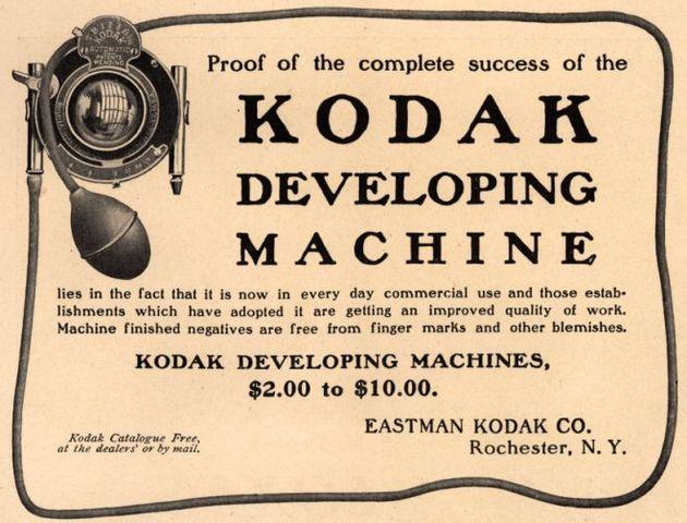 The Kodak Developing Machine
