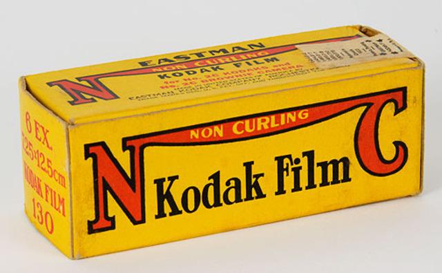 Kodak Non-Curling Film