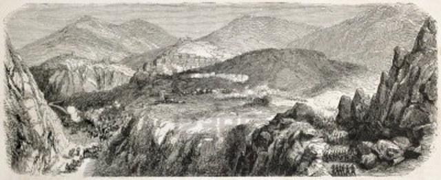 La bataille de Sicile