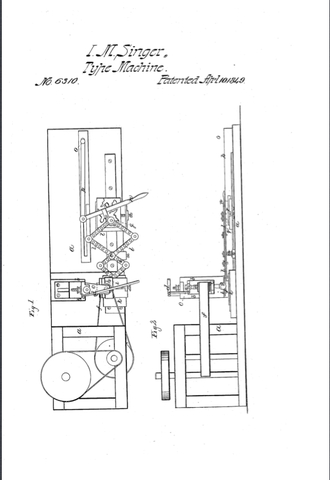 Patent received for wood and metal carving machine.