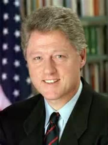 Bill Clinton began second term as president.