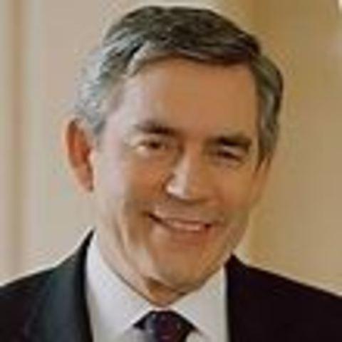 Gordon Brown new prime minister