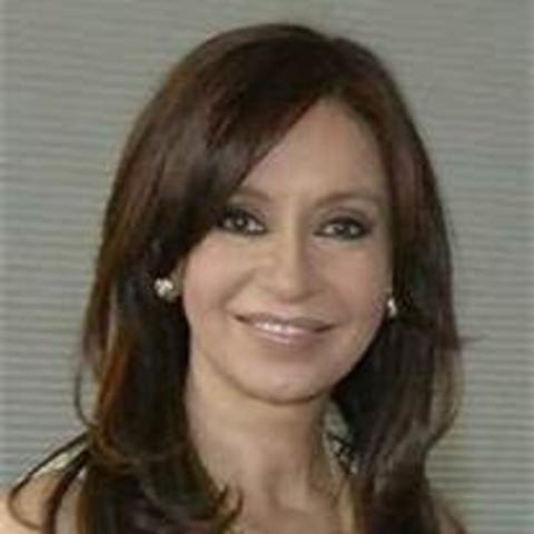 Argentina's first women president.
