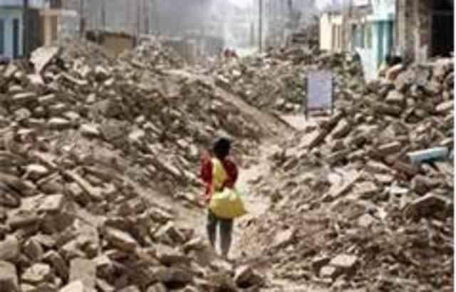 8.0 Earthquake in Peru