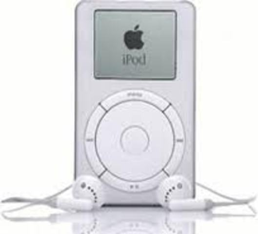 first apple ipod, last reighn of the mp3 player and cd's