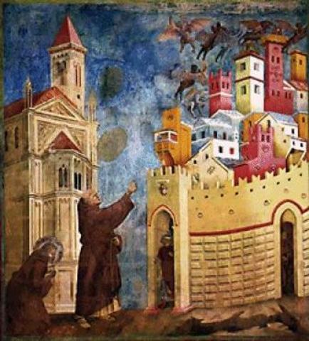 Expulsión de los demonios de Arezzo