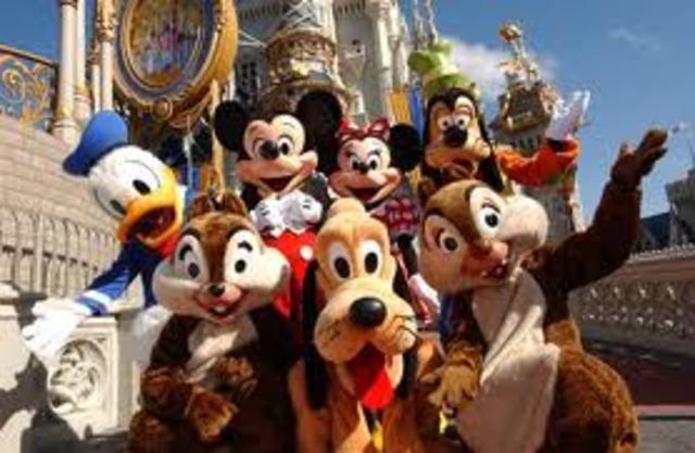 When I went to DisneyWorld