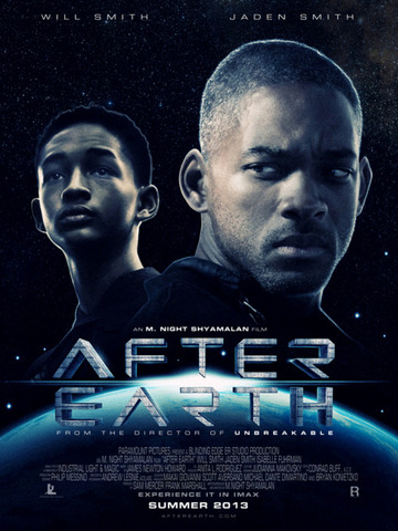 After Earth is released!