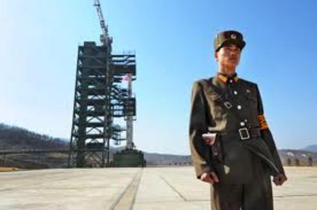 North Korea tests fires missils