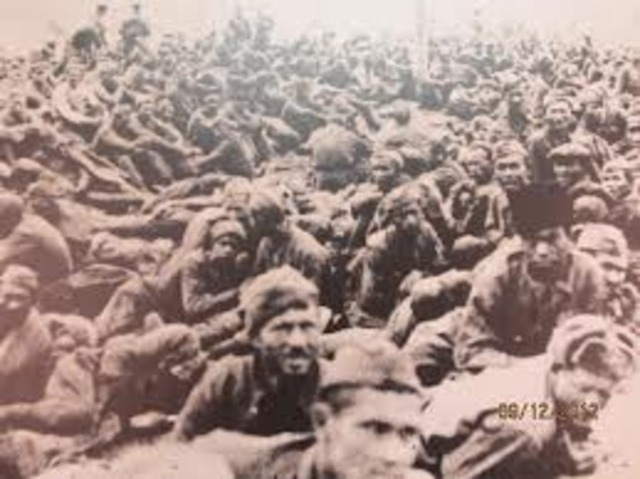 P.O.Ws and polish prisoners are sent to Auscwitz