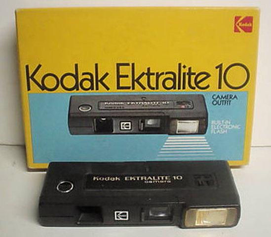 110-format cameras introduced by Kodak