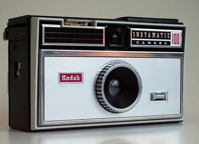 Instamatic camera by kodak