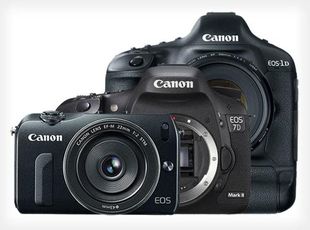 Canon EOS SLR cameras