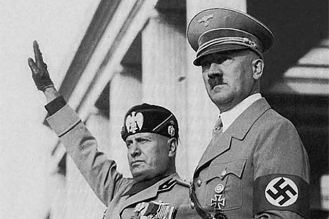 Mussolini møder Hitler