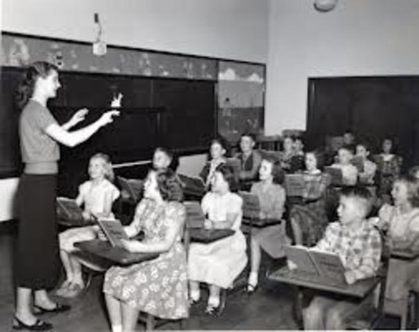 Education in 1950s