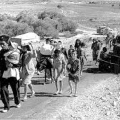היווצרות בעיית הפליטים והיווצרותה timeline