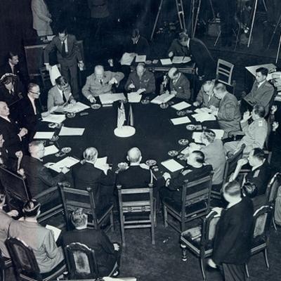 Potsdam Conference timeline