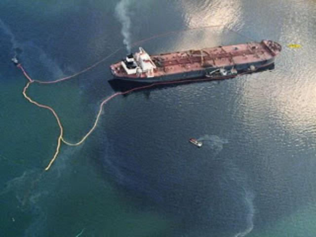 Exxon Valdez crash
