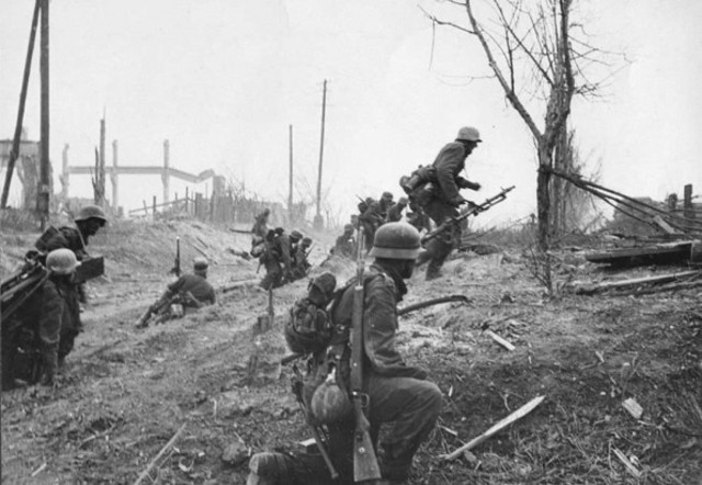Stop of German Advance