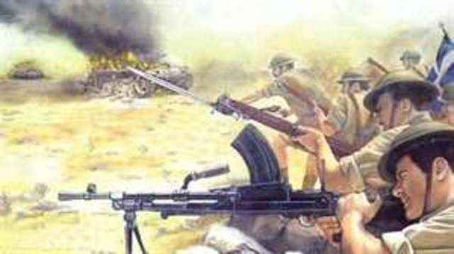 The 2nd battle of El Alamein