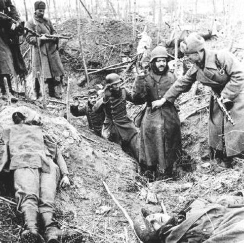 German Surrender in Stalingard