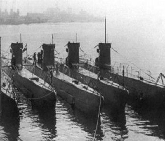 Sunken U-Boats of the Germans