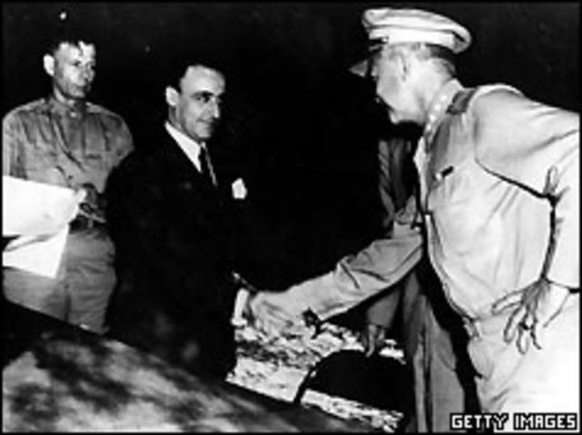 Italy surrenders.