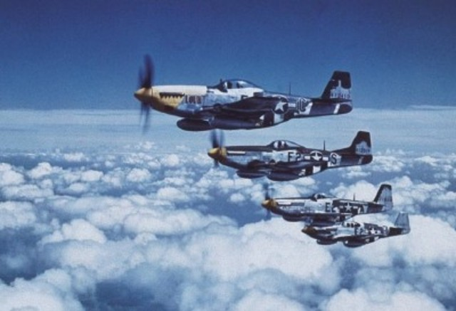 P-51 Fighters