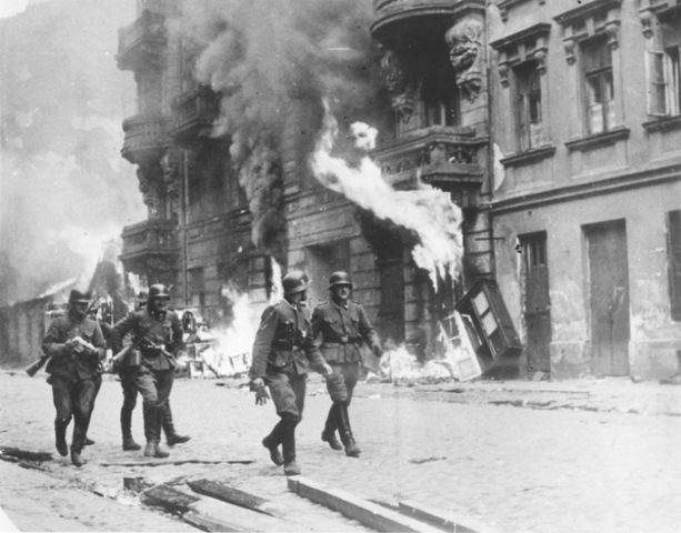 16 Jews in the Warsaw ghetto initiate resistance to deportation by the Germans to the death camps.