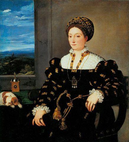 Retrato de Eleonora Gonzaga