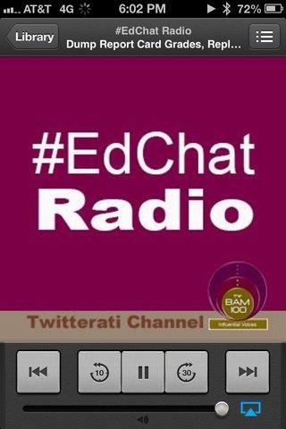 BAM Radio #Edchat Show on HW