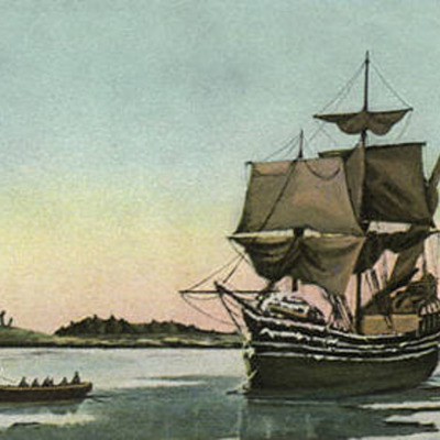 the MayFlower coming over in 1620 timeline