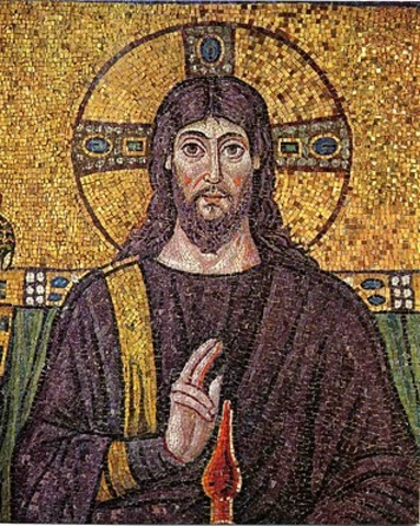 Cristo Pantocrator siglo VI