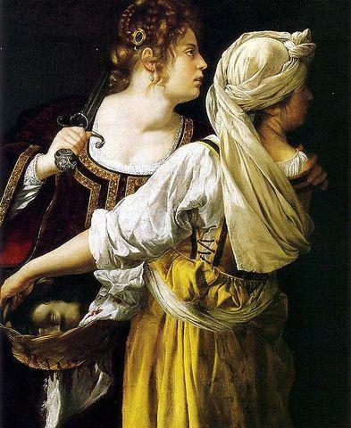Judith y su doncella-Artemisia Lomi Gentileschi