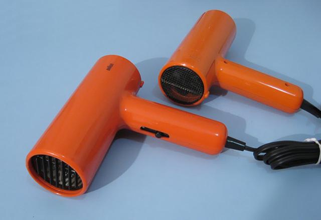 The Braun styler hair dryer