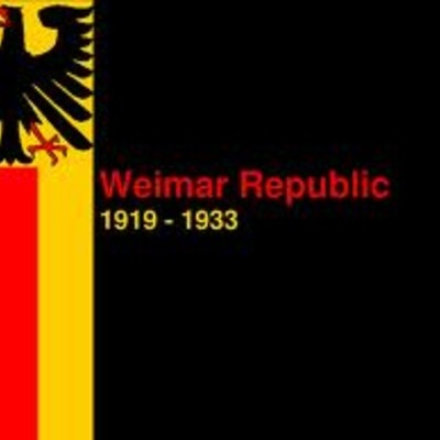 The Weimar Republic and the rise of Hitler timeline