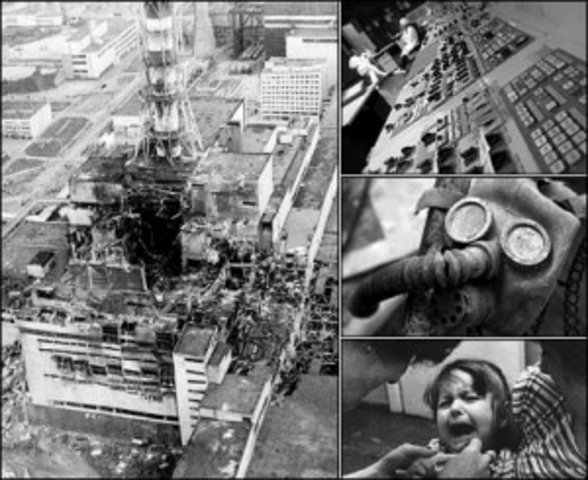 Chernobyl nuclear explosion