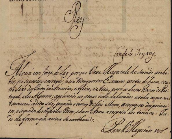 Decreto de abolição dos dízimos.