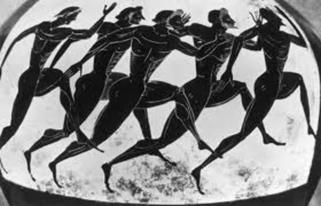 Ancient Olympics -- No shoes (Equipment)