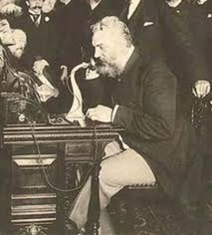 ALEXANDER GRAHAM BELLBELL INVENTA EL TELEFONO