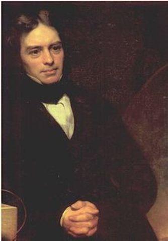 Primer generador electrico Michael Faraday.