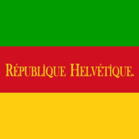 Ausrufung der Helvetischen Republik
