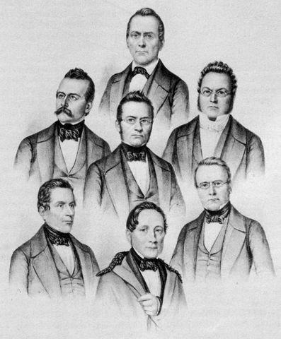 Wahl des ersten Bundesrates