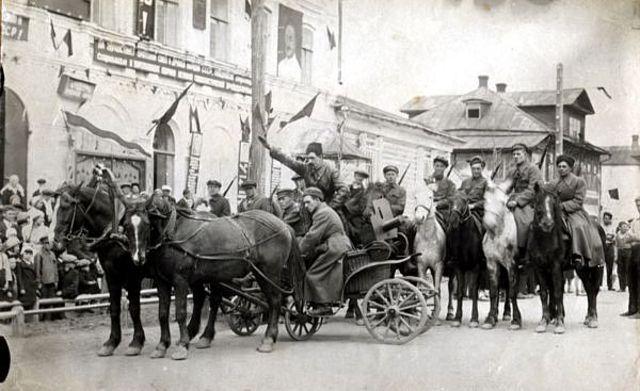 Russian Civil War ends