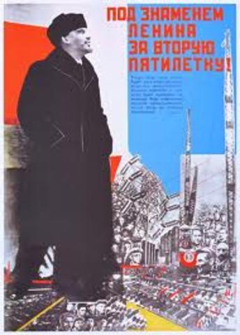 Soviet 5 year plan